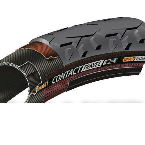 Continental Contact Travel reflektoros kerékpár gumi 47-559 26x1,75