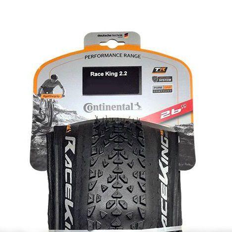 Continental Race King hajtogatható kerékpár gumi 50-559 26x2,00