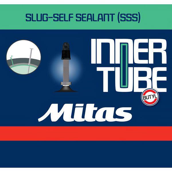 Mitas Slug Self Sealant kerékpár tömlő 25/37-622/635 700x25/35C FV47