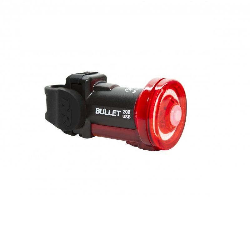 NiteRider Bullet 200 akkumulátoros hátsó lámpa